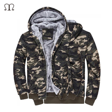 Camouflage Mens jackets 2016 Hat 100% Cotton Autumn Winter Coat Military Jacket Manteau Homme Militar Man Clothing - ManLuoDanNi Store store