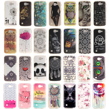 For LG K4 Cover Silicon TPU Soft Hope Love Radio Camera Fancy Starry Sky UK US Flag Owl Phone Case Shell for LG K4 LTE 28 Design