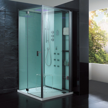 2017 new design luxury steam shower enclosures bathroom steam shower cabins jetted massage walking-in sauna rooms ASTS1081-1
