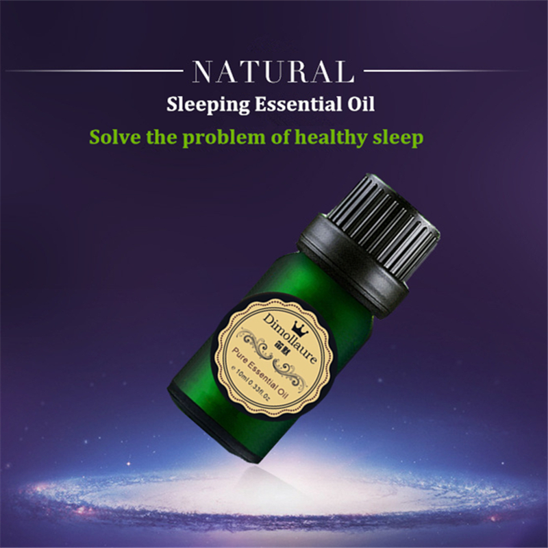 Dimollaure Good sleep essential oil Improve insomnia relax mood Aromatherapy fragrance lavender essential oil 10