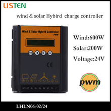 24V 800W PWM wind controller boost buck constant current output controller wind solar hybrid street light charge controller