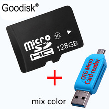 Goodisk Micro SD Card 64GB 32GB 16GB Class10 8GB Memory Card Flash Memory Microsd 32gb memory stick card 16gb with gift adapter(China)