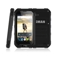 iMAN X5 IP67 Waterproof Smartphone Android 5.1 MTK6580 Quad-core 1GB RAM+8GB ROM 5MP 3000mAh 4.5 Inch 3G WCDMA Mobile Phon