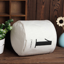 Cartoon Kids Toy Storage Bag Cotton Linen Shopping Bags Children Room Organizer Drawstring Folding Baby Clothes Laundry Bag Gift