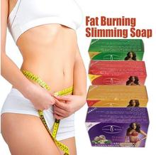 Aichun 2pcs Fat burning slimming soap weight loss firm skin and whitening,4 different types (Tea/Chilli/Garlic/Ginger) body