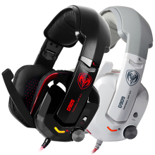 G909 USB Gaming Headphone Headset Vibration 7.1 Virtual Surround Stereo Sound With Microphone