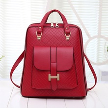 Jofeanay 2016 backpacks women backpack school bags students backpack ladies women's travel bags leather package 07-173(China)