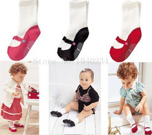 Cute Mini Footgear Baby Kids Non-Slip Socks Children Socks Baby'S Gifts 3 Colors BW03(China)