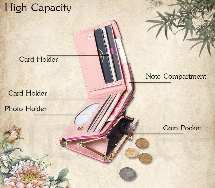 HTB11vKGRXXXXXcNXFXXq6xXFXXX9 - New Woman Wallet Small Hasp Coin Purse For Women Luxury Leather Female Wallets Design Brand Mini Lady Purses Clutch Card Holder