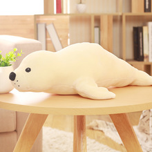 huge new creative plush seal doll big stuffed white seal toy gift about 120cm