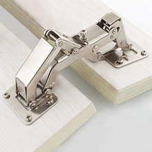 165/170/175/180 Degrees Furniture Cabinet Doors Hinge Special Angle Thick Door Panels No Need Slotting Large Angle Big Hinges(China)