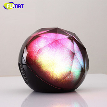 FUMAT Speaker Night Light Bluetooth Bass Speaker LED Music Player Lights with Remote Control Kids Projector Magic Night Lamps