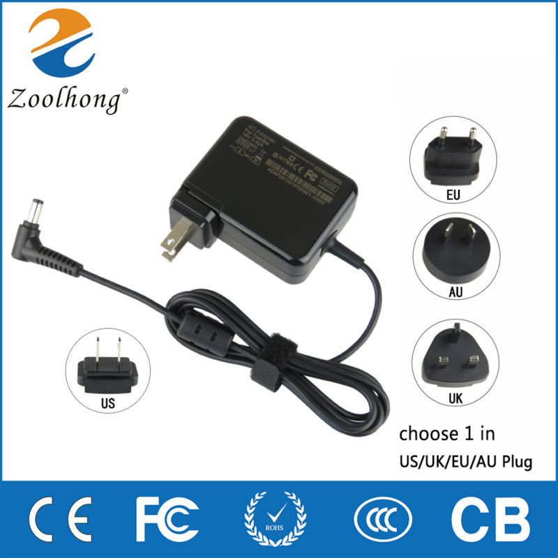Original Zoolhong Laptop AC The Adapter for Lenovo Asus Toshiba BenQ 19V 3.42A 5.5 X 2.5 MM AC Adapter Power Supply Charger(China)
