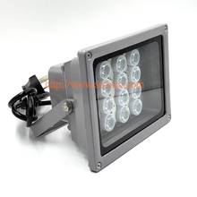 12 PCS LED 60M Distance White Light Illuminator light lamp For CCTV security camera DC/AC 15-90 Degrees Angle Optional (SI-12W)
