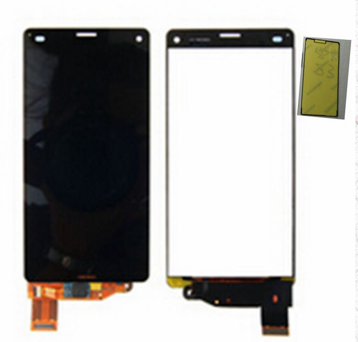 10pcs For Sony xperia z3 compact d5803 d5833 Lcd Display+touch digitizer glass screen assembly+front adhesive tape replacement<br><br>Aliexpress