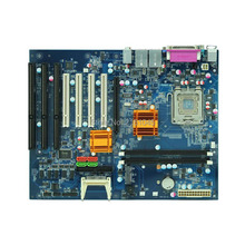 5PCS Desktop Motherboard LGA775 Core 2/Pentium CPU DDR2 2xISA Slot 5xPCI Dual Nic Win XP Micro-ATX Desktop Motherboard(China)