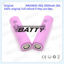 Original for Samsung 18650 Battery Specifications 3000mah 18650 30Q 3.7v Lithium-ion Rechargeable Battery(1pc)(China)