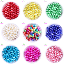 Choose Colors 500pcs/lot 12mm Lovely Pastel Easter Mix Colors Chunky ABS Pearl Bead Wrinkle Beads KQ-ZPPB-12MM(China)