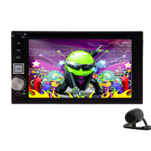 GPS Stereo Android 5.1 Car DVD Audio Radio USB 2 din System Camera Music WiFi Receiver PC APP Auto Player RDS