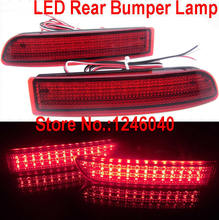 LED Rear bumper reflector light tail brake stop light rear fog lamp for Toyota Avensis Alphard Estima RAV4 Gaia PREVIA IPSUM(China)