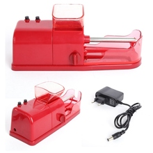 1 Pcs Cigarette Rolling Machine Electric Automatic Injector Maker Tobacco Roller With EU Plug