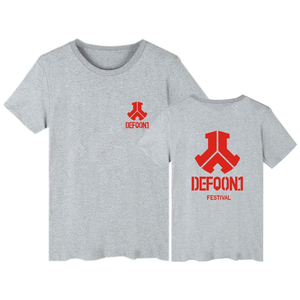 LUCKYFIRDAYF Defqon 1 Tee Shirt Men Most High Electronic Music Tshirt Men Short Sleeve Fashion Summer DJ Music Tshirt Men Cotton