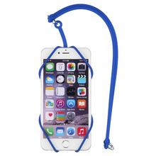 Universal Silicone Lanyard Case Cover Holder Sling Necklace Neck Strap for Mobile Phone for iPhone
