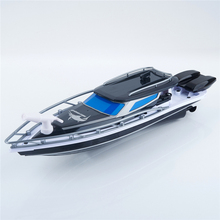 2017 RC ship New XQ TOYS Micro Remote Control Radio Controlled Fast Racing Speed fishing Boat police ship for gift NEW model(China)