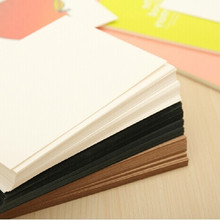 40 Sheets/lot Blank Greeting Cards Kraft Paper Postcard Vintage Blank Postcards DIY Hand Painted Graffiti Card Message Card