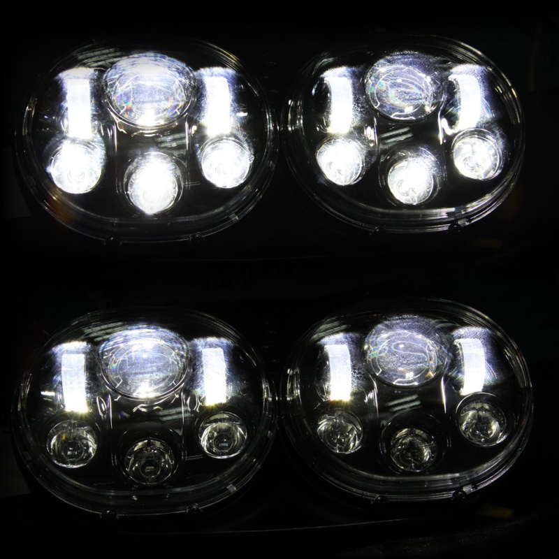 FADUIES 5.75 inch dual LED headlamps Harley Motorcycle 5 34 90W Led Motorcycle headlight For harley-davidson Road Glide dual (18)