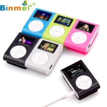 Mecall  Mini USB Clip MP3 Player LCD Screen Support 32GB Micro SD TF Card usb mp3 clipe mp3 factory price wholesale #0815