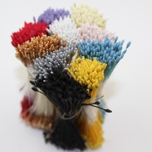 CCINEE 1mm/0.039inch ECO-Friendly Pointed Head Artificial Flower Matte Stamen Used For Artificial Flower Accessories