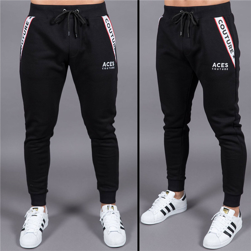 New boutique Brand Gyms Fitness Mens Joggers Casual Men Sweatpants Joggers Trousers Sporting Clothing Bodybuilding Pants men 5