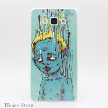 1685CA HE BLUE BOY WITH THE GOLDEN HAIR Transparent Hard Cover Case for Galaxy A3 A5 A7 A8 Note 2 3 4 5 J5 J7 Grand 2 & Prime
