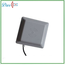 long range lector control acceso/parking barrier gate system 1~6M Integrated UHF RFID Reader