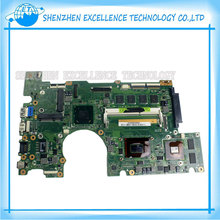 For Asus B400VC REV2.1 Laptop Motherboard  I7 CPU B400VC mainboard 100% tested