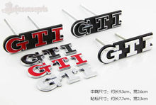 1Set GTI Front Grille Emblem ABS Car Head Grill Badge rear car Sticker for Polo Golf 4 Golf 5 Golf 6 Car Styling