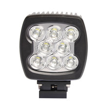 10pcs 80W led work light 4x4 offorad led driving headlight for heavy construction excavator crane truck farm vehicles industry(China)