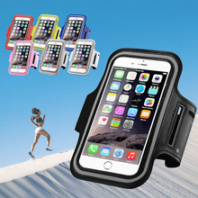 Sports Armband Waterproof Case Cover For iPhone 6 Plus Samsung Galaxy S7 Edge Xiaomi Redmi Note 2 3 Pro 4 Meizu M2 M3 M5 Note(China)
