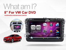 8 Inch 2 Din Multimedial Car DVD GPS Navigation For VW GOLF 6 New Polo New Bora JETTA B6 PASSAT SKODA 3G USB BT IPOD FM RDS Map