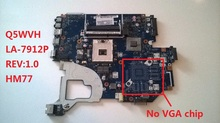 Laptop motherboard for ACER Aspire V3-571G E1-571G NV56R Q5WVH LA-7912P NBC1F11001 HM77 REV:1.0 DDR3 Fully tested
