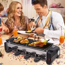 Outdoor Household Bbq Barbecue Grill Smoke-free Electric Ovens Barbecue Grill  HOBTSK-SKLU-01