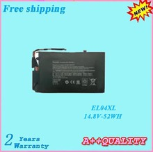14.8V 52WH For Envy TouchSmart 4 Replacement battery For HP EL04XL TPN-C102 HSTNN-IB3R Laptop