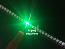 100pcs SMT SMD LED 3528 Green Ultra Bright Light-Emitting Diode LED Diode Chip Lamp