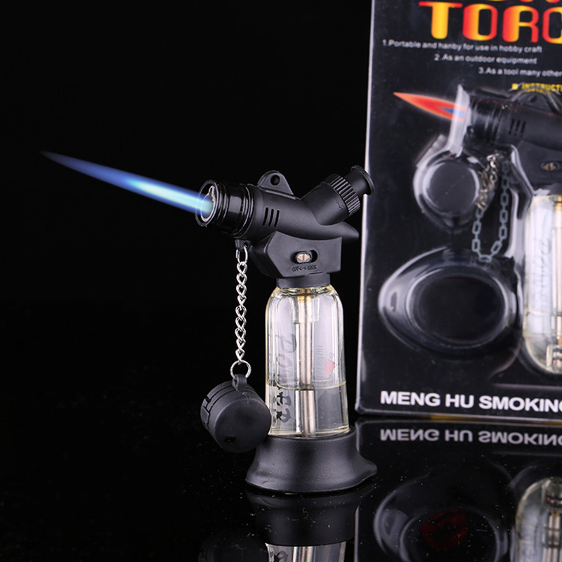 Portable handheld Outdoor Flamethrower lighter ignition torch lighter Torch Butane Combination Stove Airbrush Flamethrower<br><br>Aliexpress