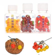 50pcs/box smell Pop ups Carp Fishing bait Boilies/ 9mm Floating ball beads feeder Artificial Carp baits lure/ hair rig(China)