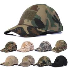 New Hiking Baseball Cap Summer Hat Camping Men's Camouflage Tactical Hat Army Bionic Cadet Military Cap
