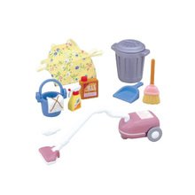 1:12 Sylvanian Families Vacuum Cleaner set Dollhouse Miniature Furniture Mini Cleaning Set Pretend Play Toys for Girls(China)