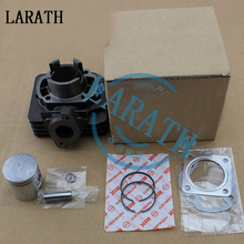 41mm Motorcycle Cylinder Kit With Piston Cylinder block And Pin for SUZUKI AD50 AG50 SJ50 ADDRESS 50 H1E41QMB