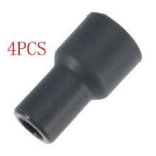 4pcs/lot Auto Part Spark Plugs Cap OEM#90919-11009 ignition coil rubber For Toyota YARIS VIOS CAMRY(China)